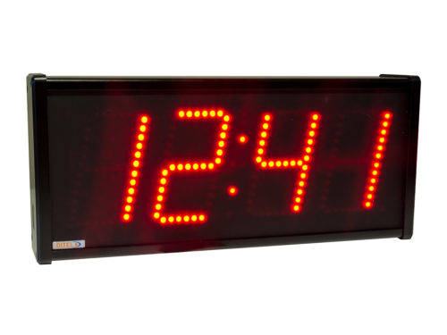 Clock calendar thermometer
