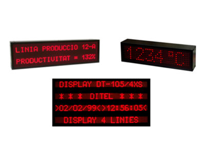 Alphanumeric Large Display