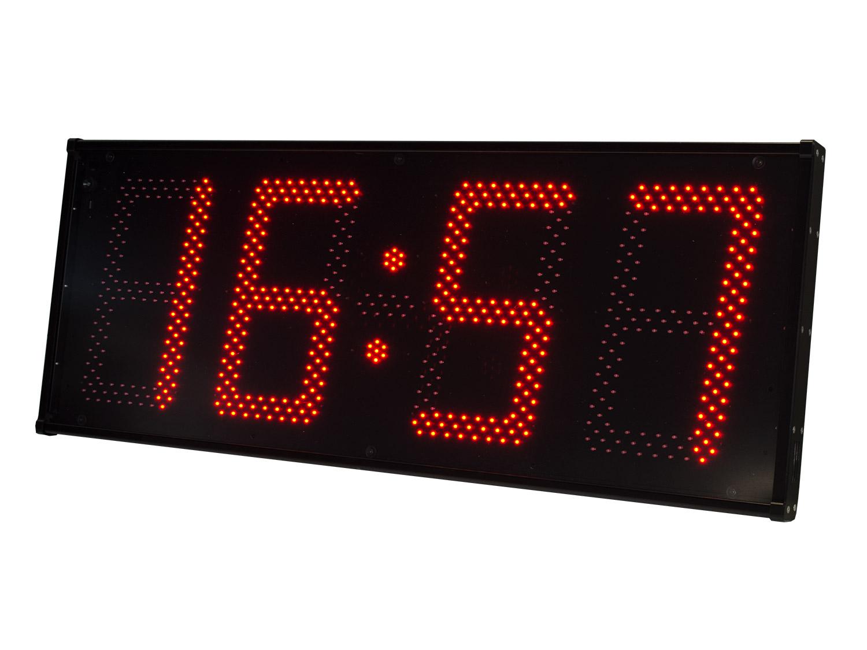 Calendario, cronómetro, termómetro LED