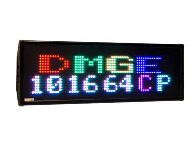 Visualizador matricial RGB DMGE101664C