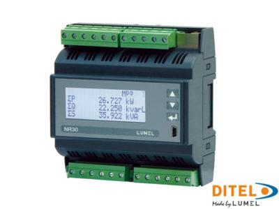 DIN rail power network meter